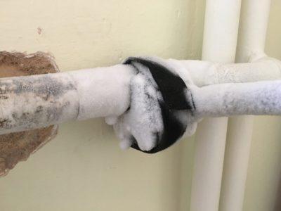 Zamrazení potrubí