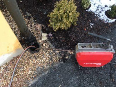 Čištění odpadů a kamerový systém